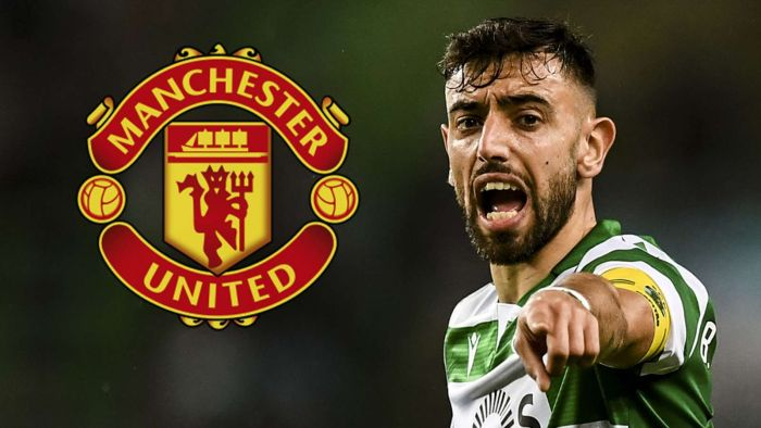 Manchester United Signs Bruno Fernandes For €55m From Sporting CP